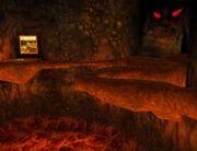 Mount Fire Eyes-Eingang