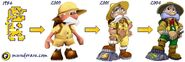 Sabreman evolucion