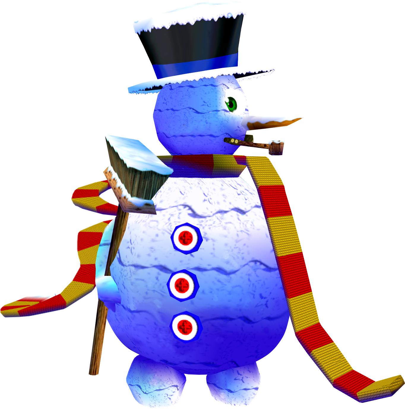 Muñeco de Nieve Gigante | Wiki Banjo Kazooie | FANDOM powered by Wikia