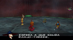 Gruntilda mencionando Banjo-Threeie