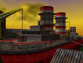 Rusty Bucket Bay entry