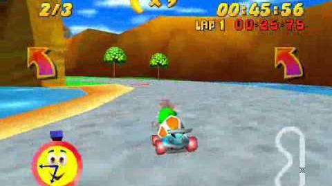 Tiptup in Diddy Kong Racing N64