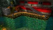 Bahia del cubo oxidado entrada