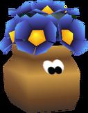 Urna con flores