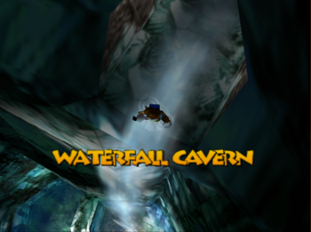 BT waterfallcavern