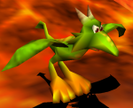 Dragon kazooie