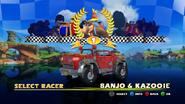 Banjo y kazooie racing