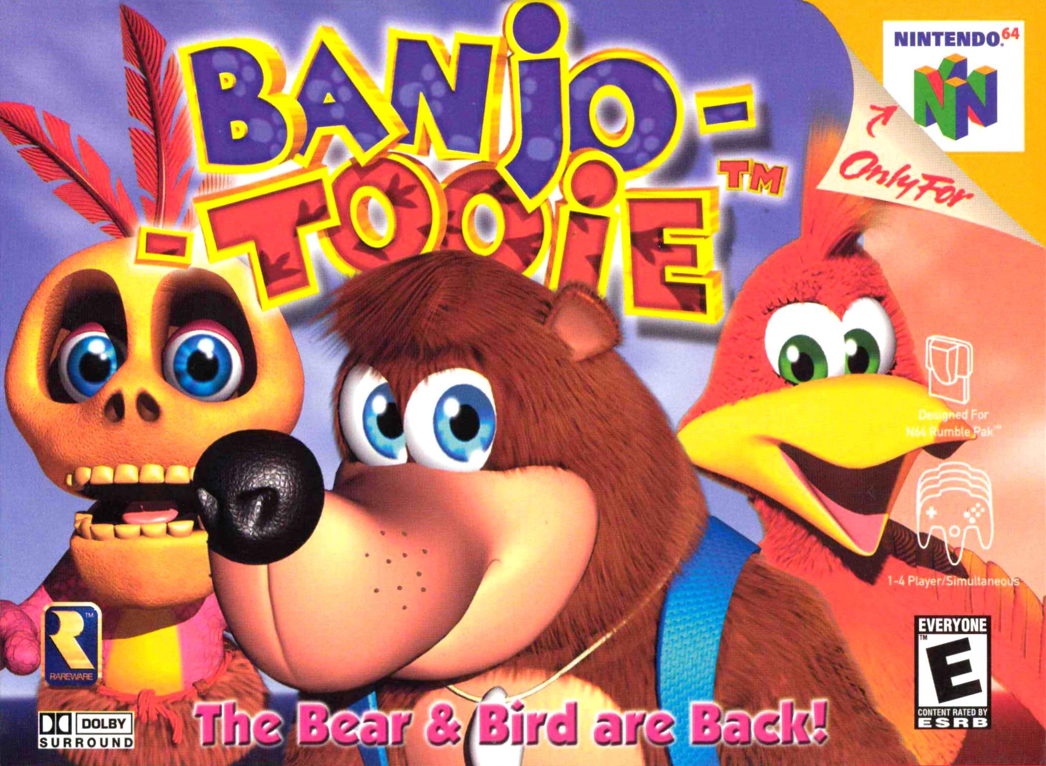 Banjo Tooie Boxart North America