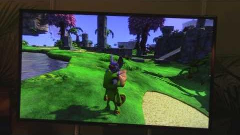 Yooka-Laylee 6-Minutes of Gameplay (Pre-Alpha Build - E3 2015)