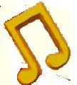 Nota musical en lvdg