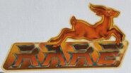 Rare logo 1987–1990