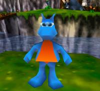 Jinjo azul bk