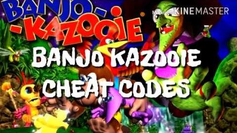 BANJO KAZOOIE CHEAT CODES