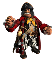 Capitan blackeye render
