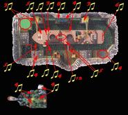 La bahia del cubo oxidado mapa