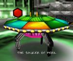 Bt saucer of peril