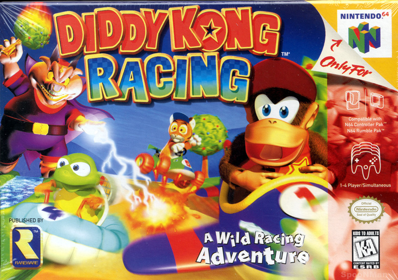 Diddy Kong Racinggallery Banjo Kazooie Wiki Fandom Powered By Wikia