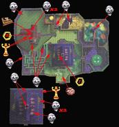 Mansion del monstruo loco mapa 2
