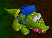 Banjo crocodile
