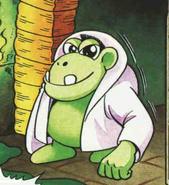 Klungo en el comic