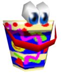 Leaky el balde