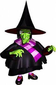 Gruntilda the witch