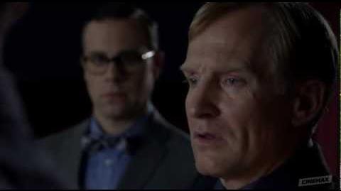 Banshee Season 1 Episode 3 Clip - Lucas Approaches Proctor About Skulls