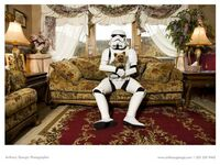 Storm troopers living room