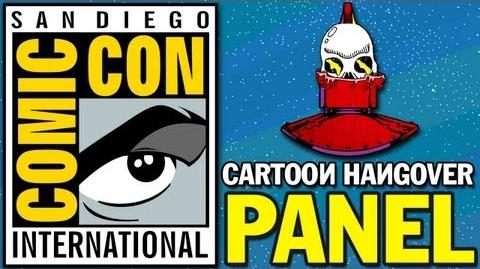 San Diego Comic Con 2013 Cartoon Hangover Panel - Bravest Warriors, Bee and Puppycat, and More!