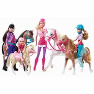 Barbie and Her Sisters in A Pony Tale Doll Collection