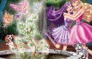 Book Illustration of Princess & Popstar 13
