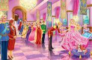 Book Illustration of Princess & Popstar 1