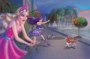 Book Illustration of Princess & Popstar 11