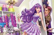 Book Illustration of Princess & Popstar 4