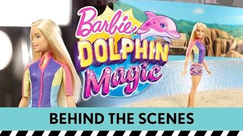 Dive Behind the Scenes on a Barbie Dolphin Magic™ Photo Shoot