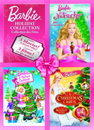 Barbie Holiday Collection DVDs in the Nutcracker A Perfect Christmas Carol