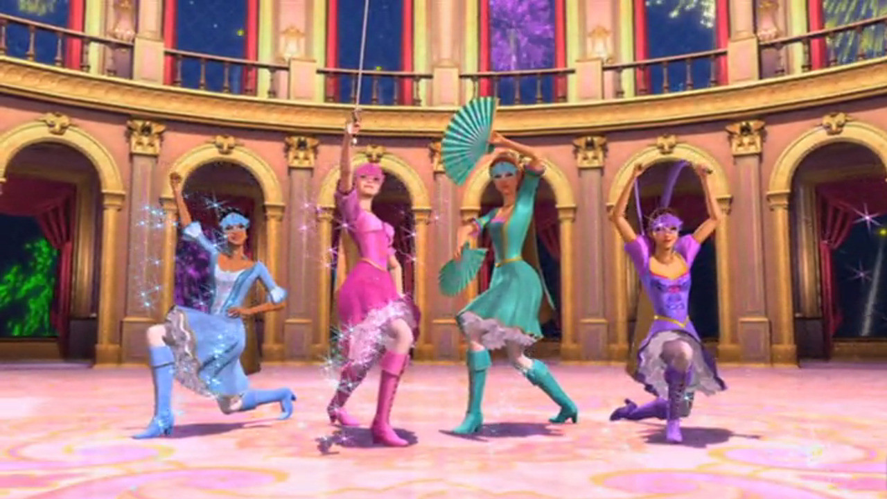 Image  Barbie and the three musketeersjpg  Barbie Movies Wiki