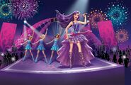 Book Illustration of Princess & Popstar 3
