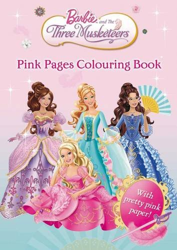 Image Barbie and The Three Musketeers Pink Pages Coloring Bookjpg