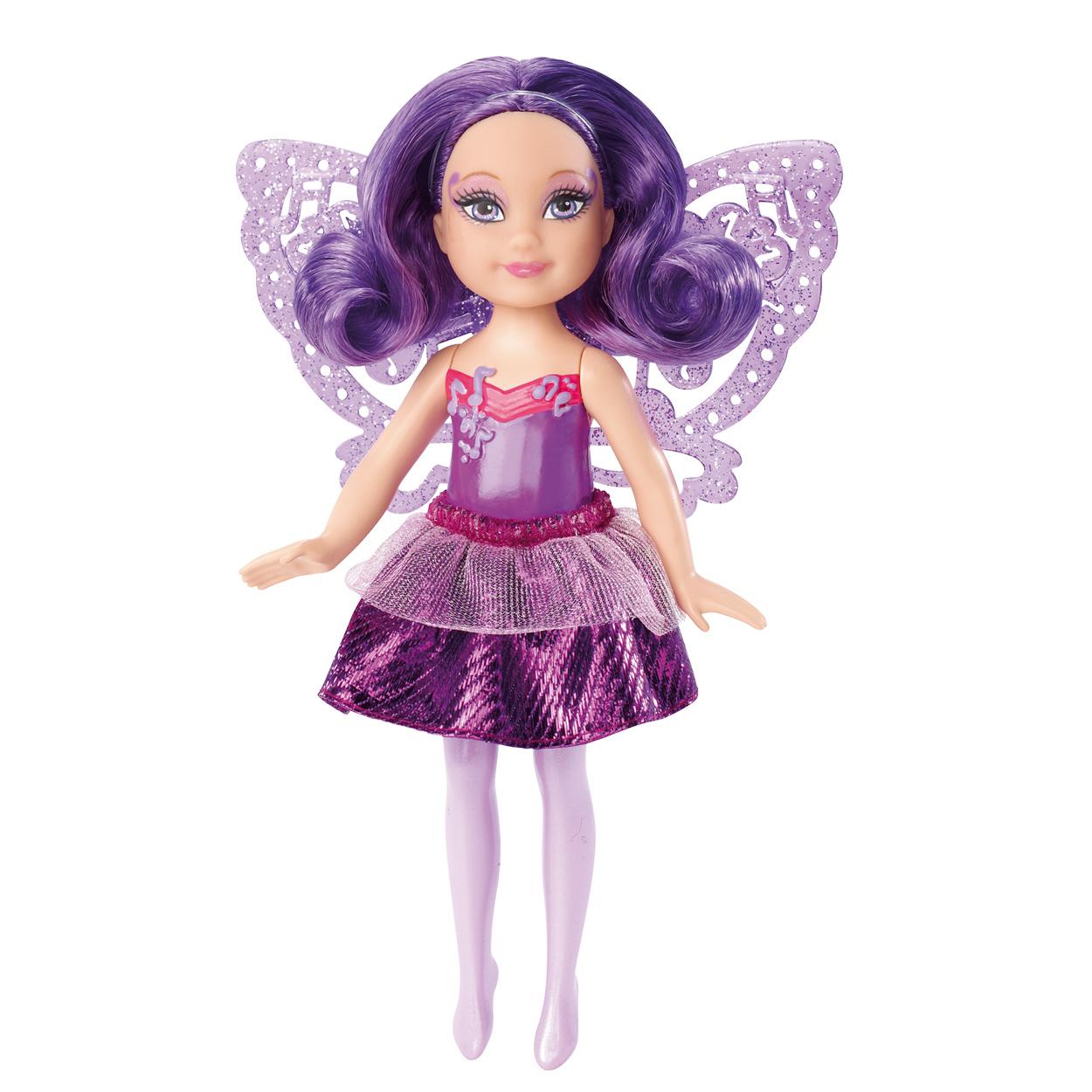 Barbie The Princess Popstar Fairy Small Doll Assortment Purple