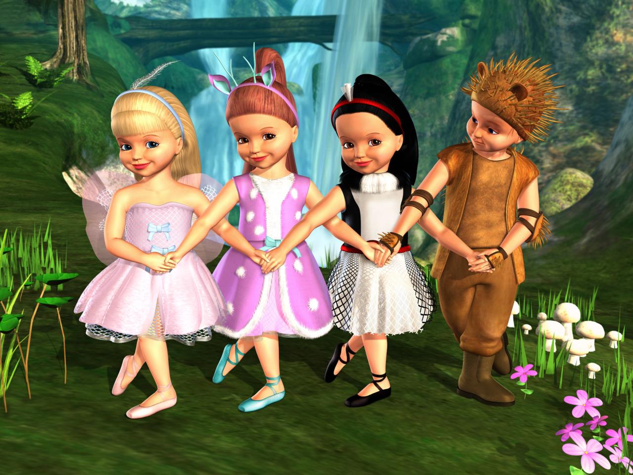 Barbie Swan Lake Kelly Maria as Carlita the Skunk