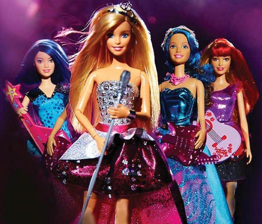 Картинки барби принцесса рок звезда