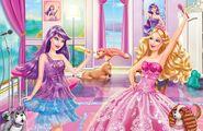 Book Illustration of Princess & Popstar 6