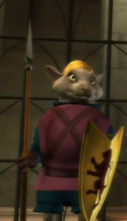 Mouse kings soldier