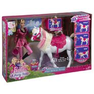 Barbie and Horse boxed