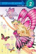 Barbie Mariposa and her Butterfly Fairy Friends Step Into Reading Book