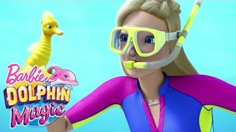 """Treasure"" Official Music Video Dolphin Magic Barbie"