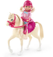 Barbie & Her Sisters in A Pony Tale Doll Chelsea and Horse 1