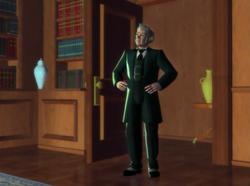 Barbie in the Nutcracker Grandfather Drosselmayer 8