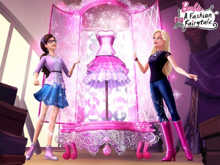 Barbie fashion show full movie